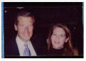 Little did Brian Williams know, he was posing with Vinnie.
