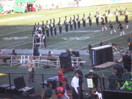 UAB versus Marshall Halftime Show