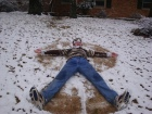 Does this snow angel make me look fat?