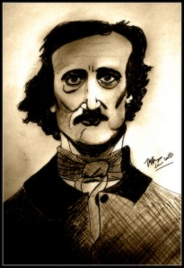 Edgar Allen Poe as scribbled and hacked by WriteChic