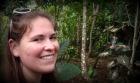 Alexa meandering through a Cacao Plantation