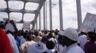 On the Edmund Pettis Bridge, Selma, Alabama, March 2009